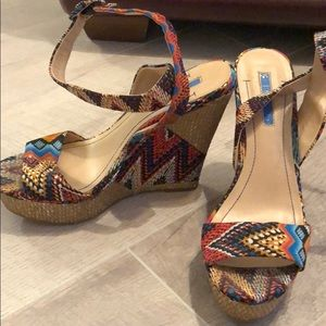 BCBG Colorful Wedges